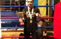 Cadet Mykola Gutsulyak won the Chernivtsi Regional  Open  Kickboxing and Thai boxing Championship