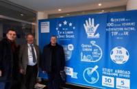RECTOR OF LVIV STATE UNIVERSITY OF LIFE SAFETY VISITS KINGSTON UNIVERSITY IN THE PROGRAM ERASMUS +