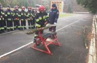 "Practical trainings on the discipline ""Fire, engineering and rescue equipment"""