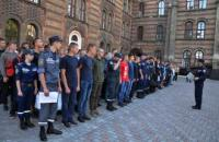 Basic military training begins at Lviv State University of Life Safety