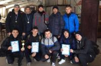 "The University obstacle course crossing team took the first place in Lviv regional ""Dynamo"" organization Championship"