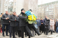 Students of Lviv State University of Life Safety honoured the liquidators of the Chornobyl accident
