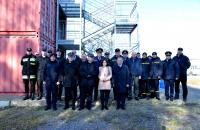 "Opening of the first ""Fire Module"" in Ukraine: The Consul General of Poland  opened fire training complex on the LSULS landfill"