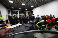TRAINING CENTER OF RESCUE WORKS OPENED AT THE UNIVERSITY