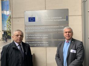 Rector of the University Myroslav Koval participated in the EU-CHEM-REACT 2 Consultative Session in Brussels