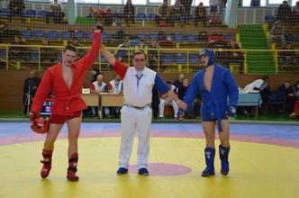 Petro Davydenko – the winner of the Ukrainian Sambo Cup