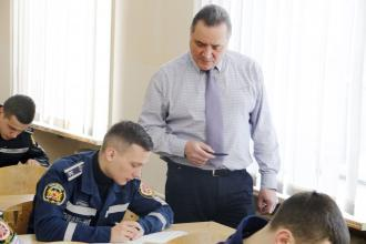 "The first round of the Student Olympiad on the discipline ""Fire safety"" at Lviv State University of Life Safety"