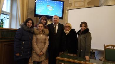 Our representatives discussed the Annual Report of Lviv Regional Office of Children's Services