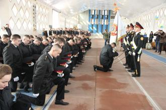 Graduation ceremony at Vinnytsya Higher Vocational College