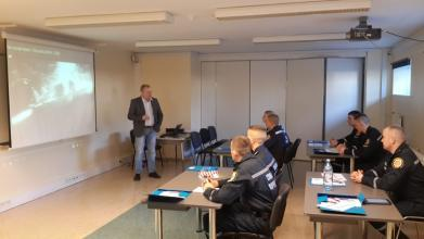 Our cadets learn the peculiarities of humanitarian demining in Estonia