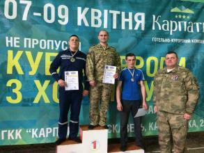 Police Horting Open European Championship: our cadets are in top