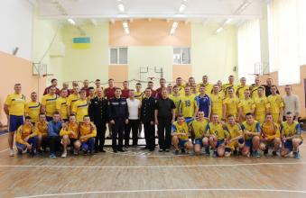 """Our volleyball team won the first stage of """"Minister of Internal Affairs Cup"""""""