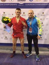 Petro Davydenko is one of the best in Europe in unarmed self-defence
