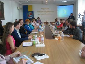 Olga Martyn took part in International Forum on security INFOS-2017