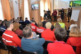 """Training """"Medical response during mass incidents"""" on the basis of Lviv State University of Life Safety"""