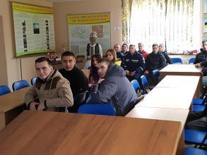 """Practical classes in """"Roztochya"""" Natural Reserve  and """"Yavorivsky"""" National Natural Park"""