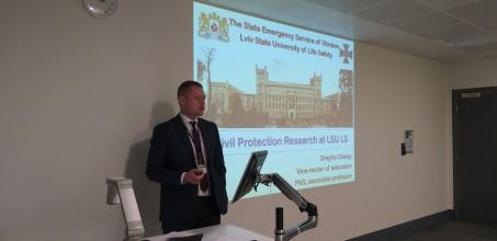 The Vice Rector of the University Dmytro Chalyi pays a working visit to Kingston University, the UK