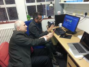 Representatives of LSU LS visited Kingston University, London