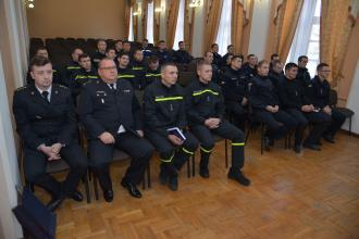 Practical exercises  for rescuers from five regions of Ukraine took place in the testing field of Lviv State University of Life Safety