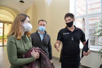 OSCE Ukraine representatives visit University