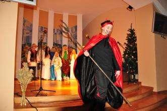 У Львівському державному університеті безпеки життєдіяльності відбувся Різдв'яний вертеп.