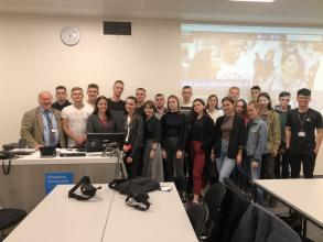 Students and cadets of Lviv state universityof life safety study in the UK