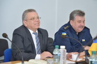 "Representatives of 5 countries visited Lviv state university of life safety conducting project ""EU-CHEM-REACT 2"""