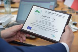 """Representatives of 5 countries visited Lviv state university of life safety conducting project """"EU-CHEM-REACT 2"""""""