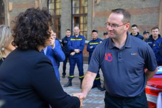 """Lviv state university of life safety starts training for  instructors in the framework of the project """"Strengthening  Help Force of the State emergency service of Ukraine """""""