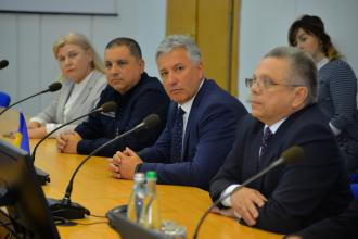 Mykola Chechotkin , the head of State emergency service  of Ukraine and the Head of Disaster and Emergency Management Authority (AFAD)  In Turkey Dr. Mehmet Gulluoglu visited the University with a working  visit.