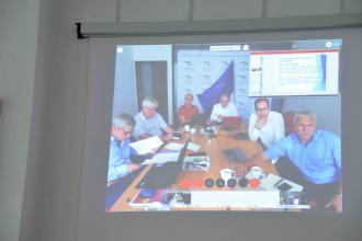 EU-CHEM-REACT 2 field exercise  (FSX): university online conference for international project planning.