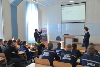 Within the ERASMUS + program, a member of the Supreme Council of the League of Defense, a member of the Estonian Reserve Officers Association - Mati Raidma visited the University