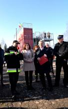 """Opening of the first """"Fire Module"""" in Ukraine: The Consul General of Poland  opened fire training complex on the LSULS landfill"""
