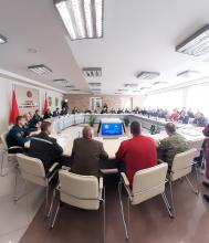 Delegation of LSULS at Table top  Exercise in the Republic of Belarus