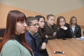 On April 25, in our university a meeting took place between dr. Alan Flowers and students and personnel of The Institute of psychology  and social protection in Lviv State university of life safety