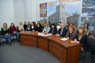 WEB CONFERENCE LINKED IN NINE UNIVERSITIES