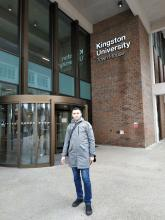 University representative at Kingston University, London, UK as part of «ERASMUS +»  program
