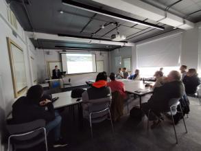 Representative's visit from LSULS to Kingston University finished within the ERASMUS + program (London, UK)