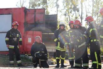 22 rescuers from Ternopil region gain experience on LSULS Fire Module