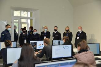 """Project resumption """"Ecologistics - improving the management of solid landfills of household waste in the Lviv region """". Delegation from Main schools of state fire service of Poland visited LSULS"""