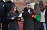 Heavenly Hundred Heroes commemoration at  Lviv State University of Life Safety