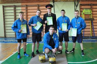 Weightlifting competitions at Lviv State University of Life Safety