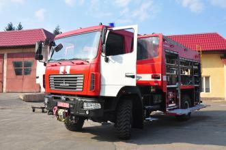 A new fire pumper for our University