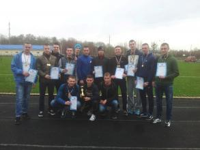 "Results of  Lviv regional Championship  of ""Dynamo"" organization in athletics and cross country running"