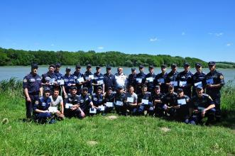 "Cadets of LSULS received certificates of ""Rescue swimmers"""