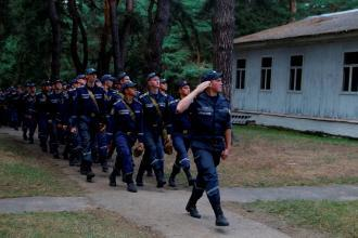 Independence Day at Basic military training Camp