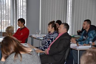 Training on military translation in Kharkiv