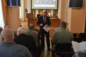 Meeting of veterans took place at LSULS
