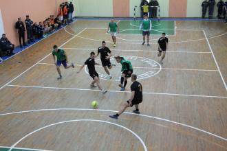 Results of the mini-football contest between University departments